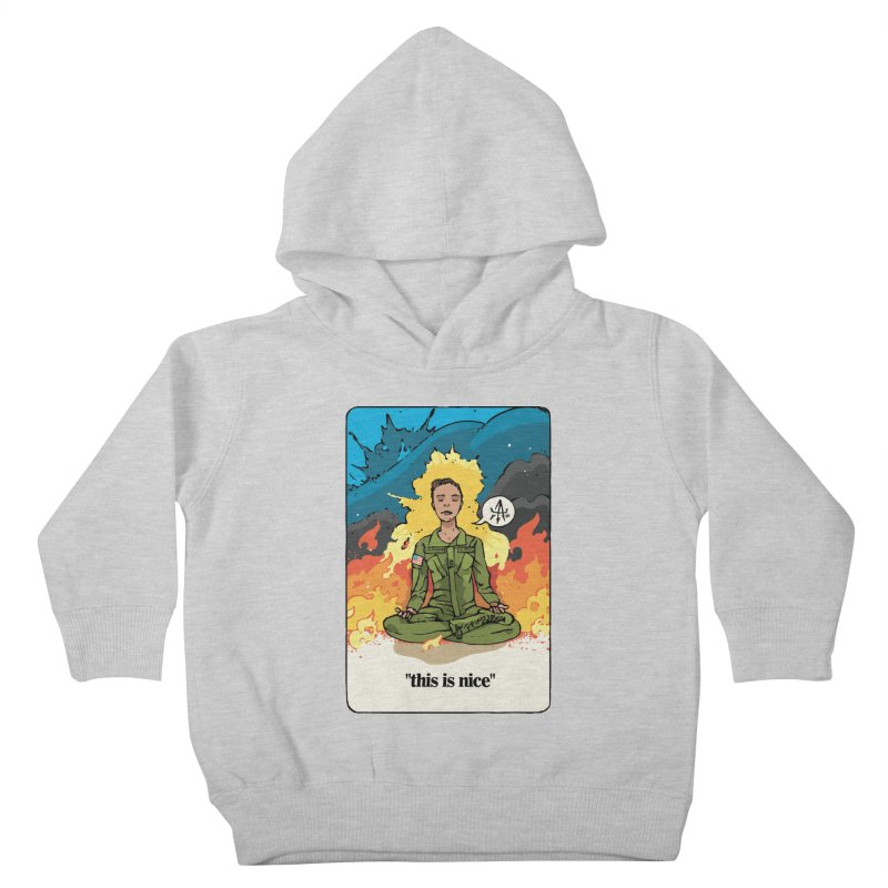 This is Nice Kids Toddler Pullover Hoody by Attention®