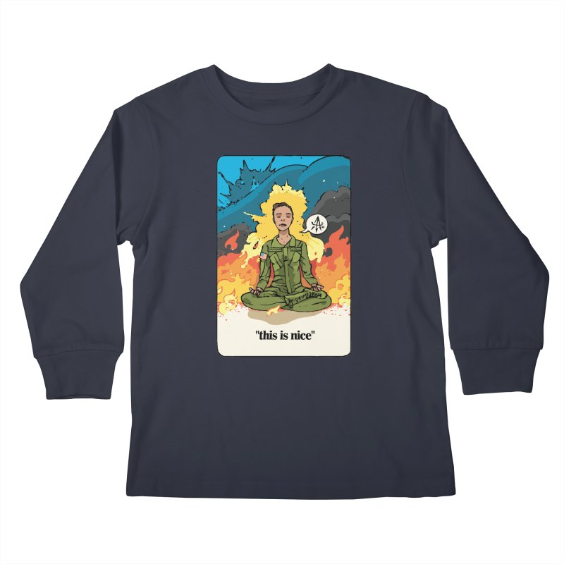 This is Nice Kids Longsleeve T-Shirt by Attention®