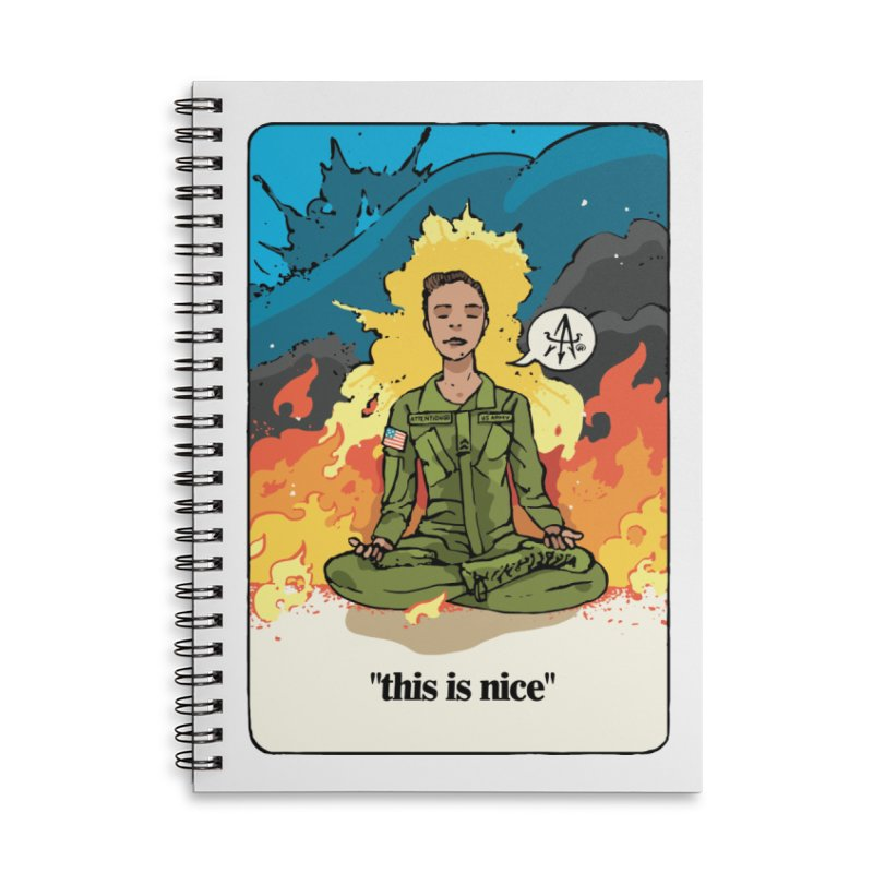 This is Nice Accessories Notebook by Attention®