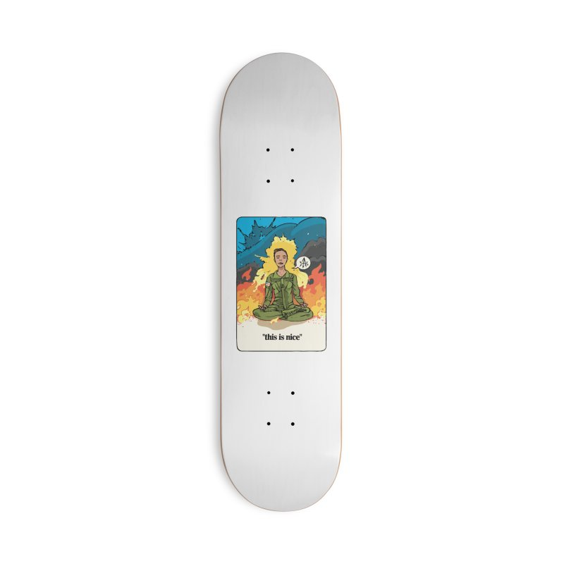 This is Nice Accessories Skateboard by Attention®