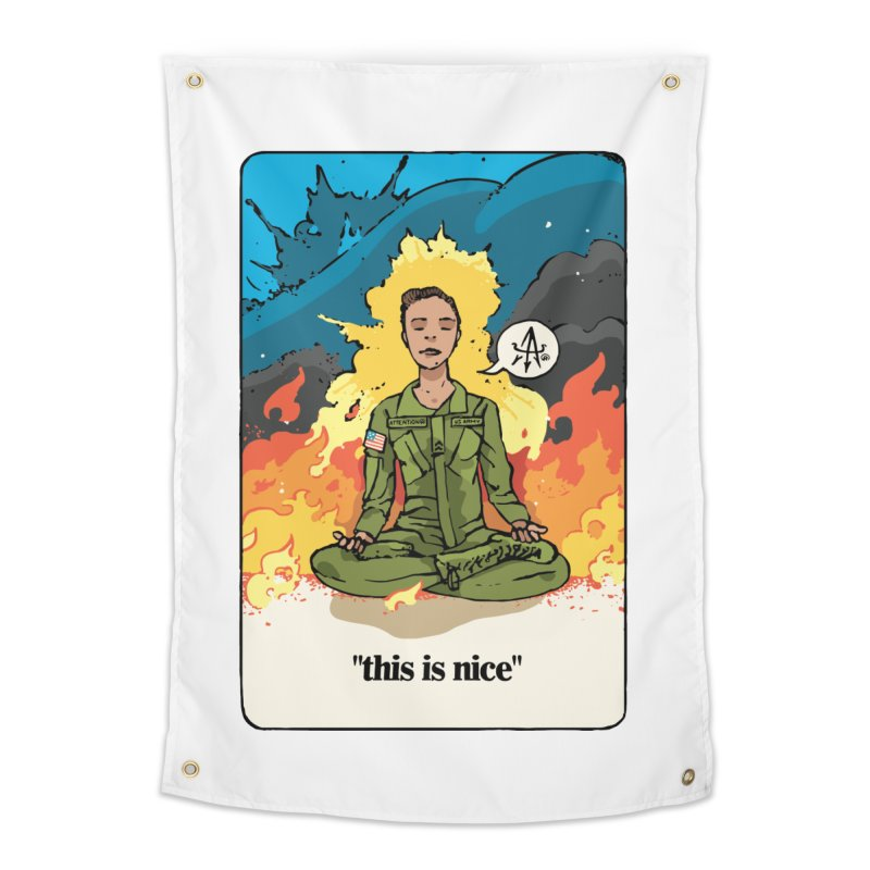 This is Nice Home Tapestry by Attention®