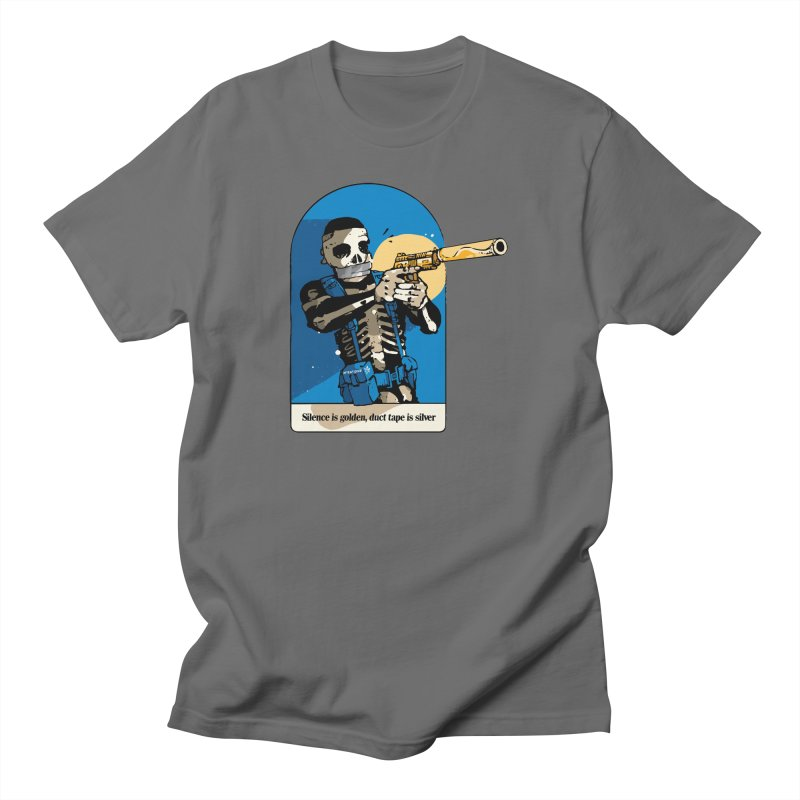 Silence is Golden Men's T-Shirt by Attention®
