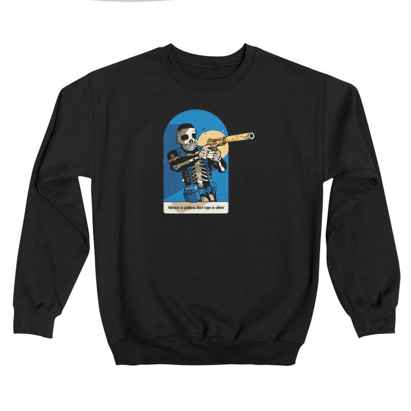 Silence is Golden Men's Sweatshirt by Attention®