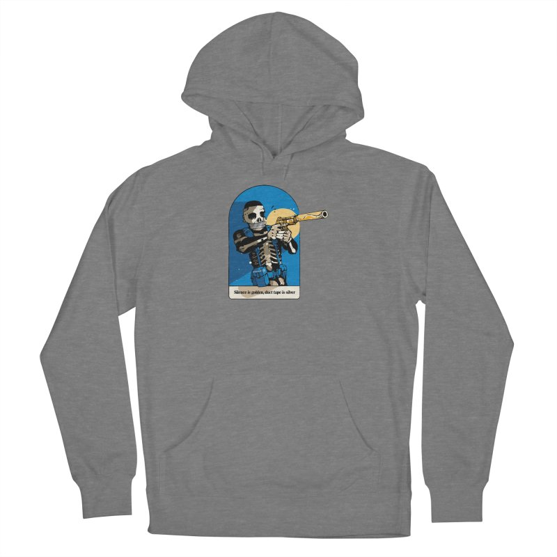 Silence is Golden Women's Pullover Hoody by Attention®