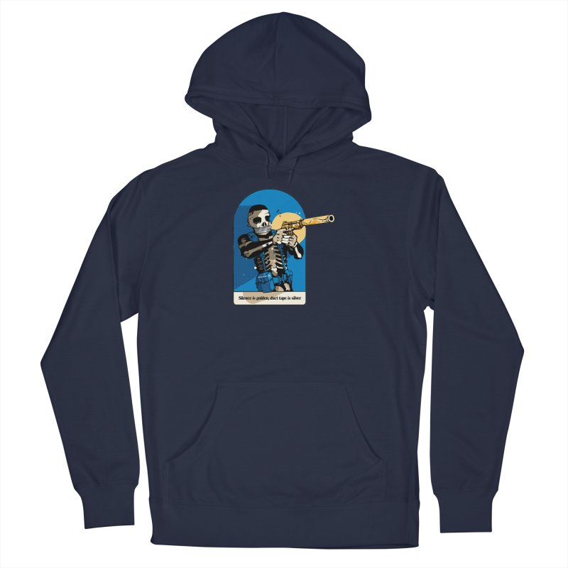 Silence is Golden Men's Pullover Hoody by Attention®