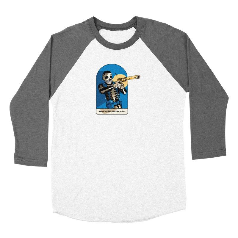Silence is Golden Women's Longsleeve T-Shirt by Attention®