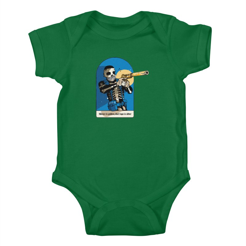 Silence is Golden Kids Baby Bodysuit by Attention®