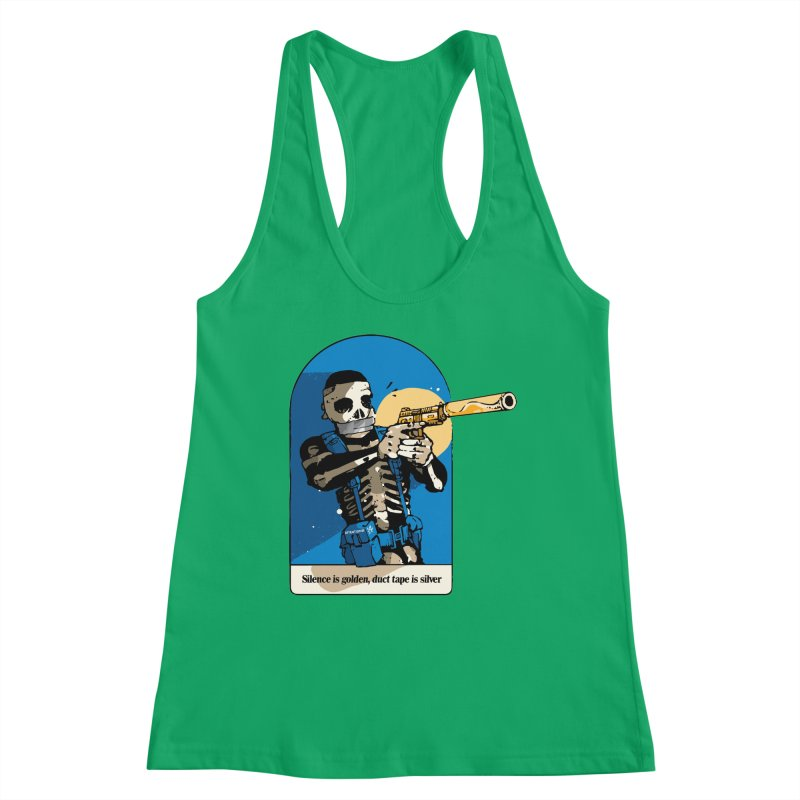 Silence is Golden Women's Tank by Attention®