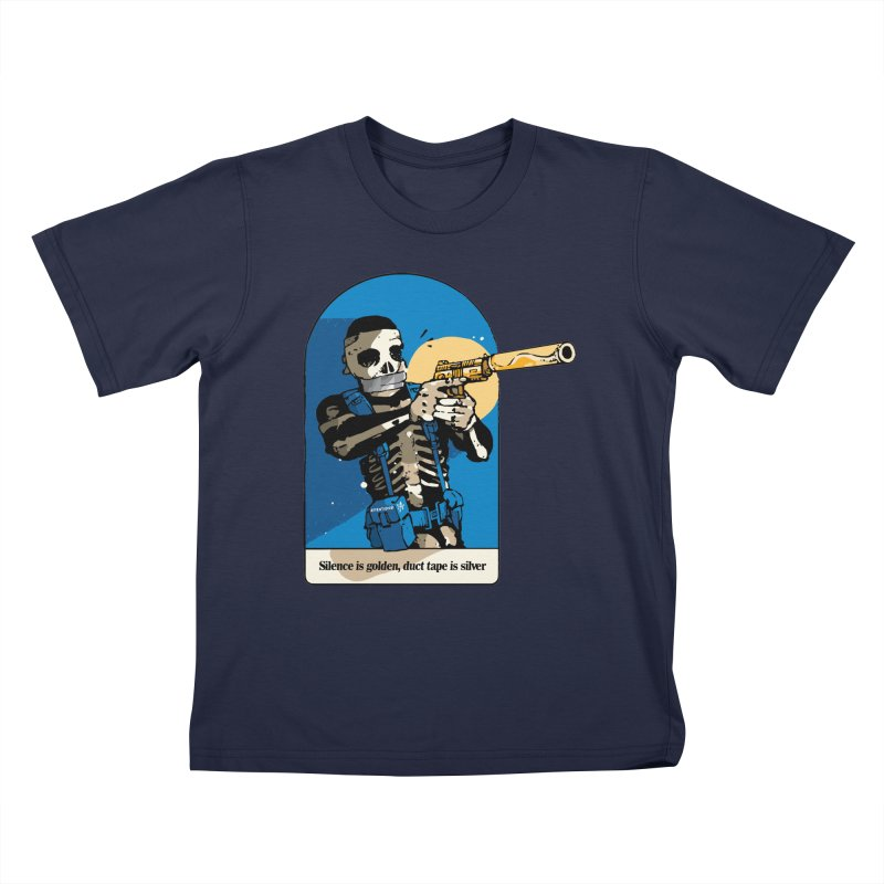 Silence is Golden Kids T-Shirt by Attention®