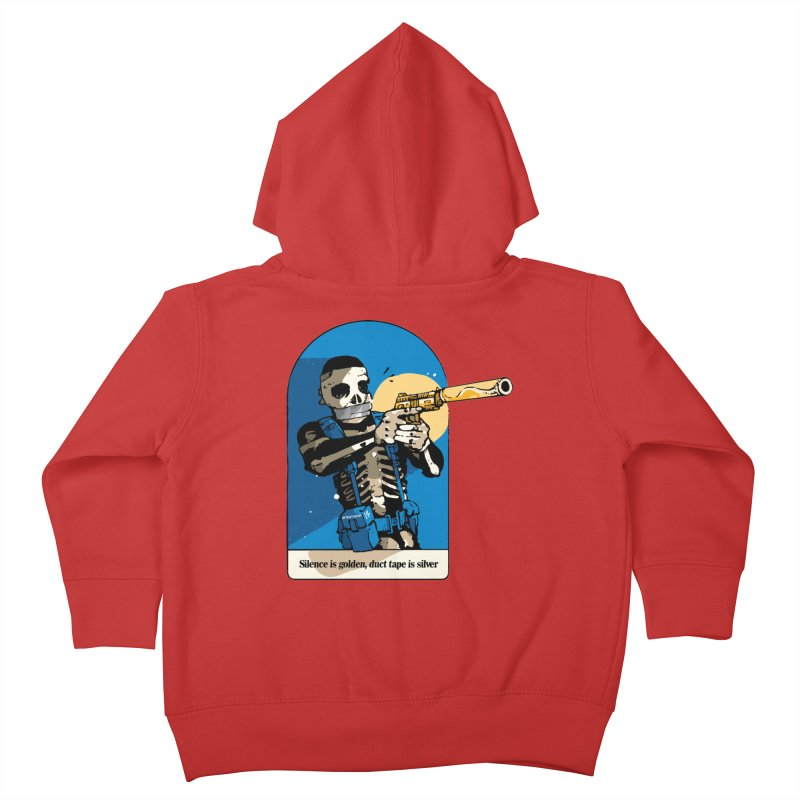Silence is Golden Kids Toddler Zip-Up Hoody by Attention®