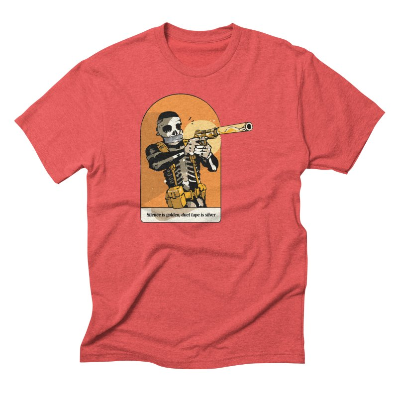 Silence is Golden 2 Men's T-Shirt by Attention®