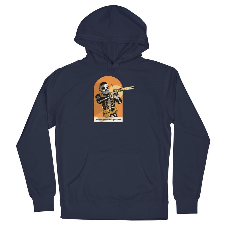 Silence is Golden 2 Men's Pullover Hoody by Attention®