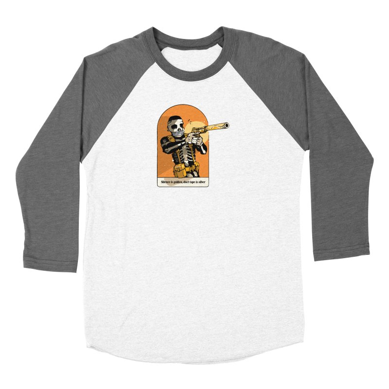 Silence is Golden 2 Women's Longsleeve T-Shirt by Attention®