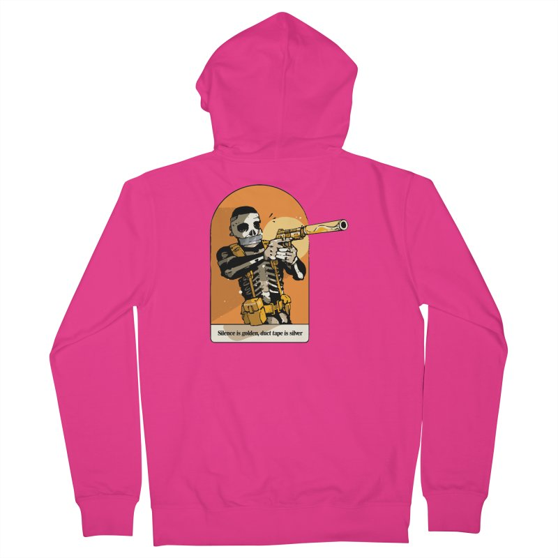Silence is Golden 2 Men's Zip-Up Hoody by Attention®