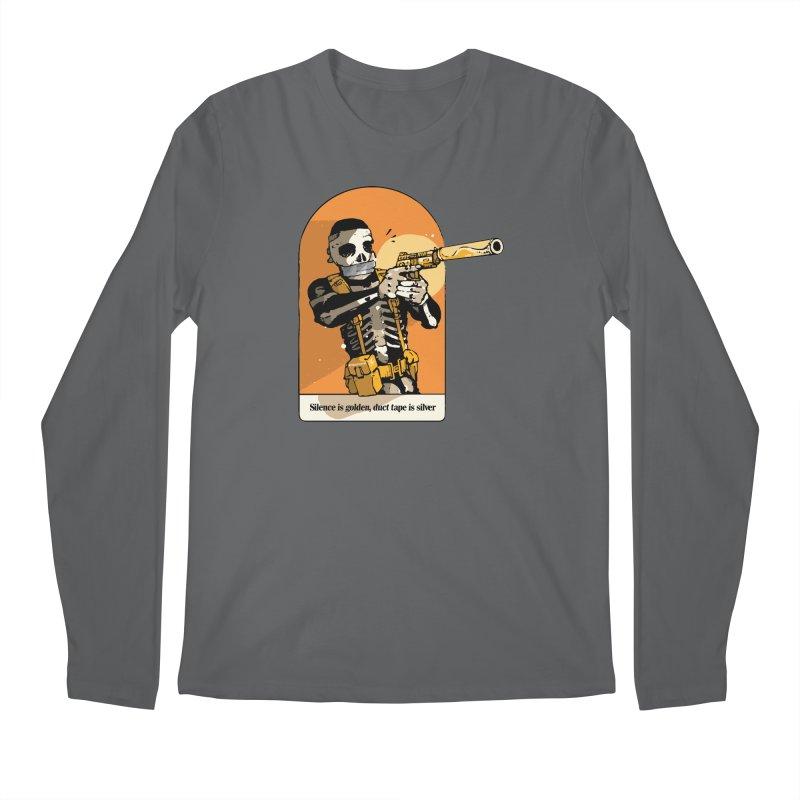 Silence is Golden 2 Men's Longsleeve T-Shirt by Attention®