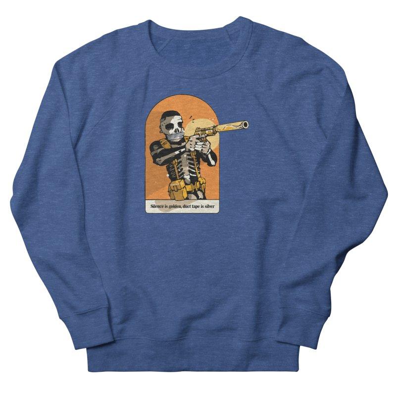 Silence is Golden 2 Men's Sweatshirt by Attention®