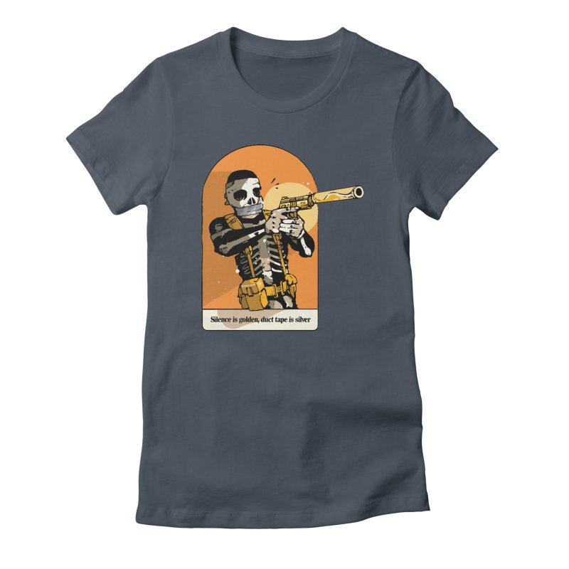 Silence is Golden 2 Women's T-Shirt by Attention®