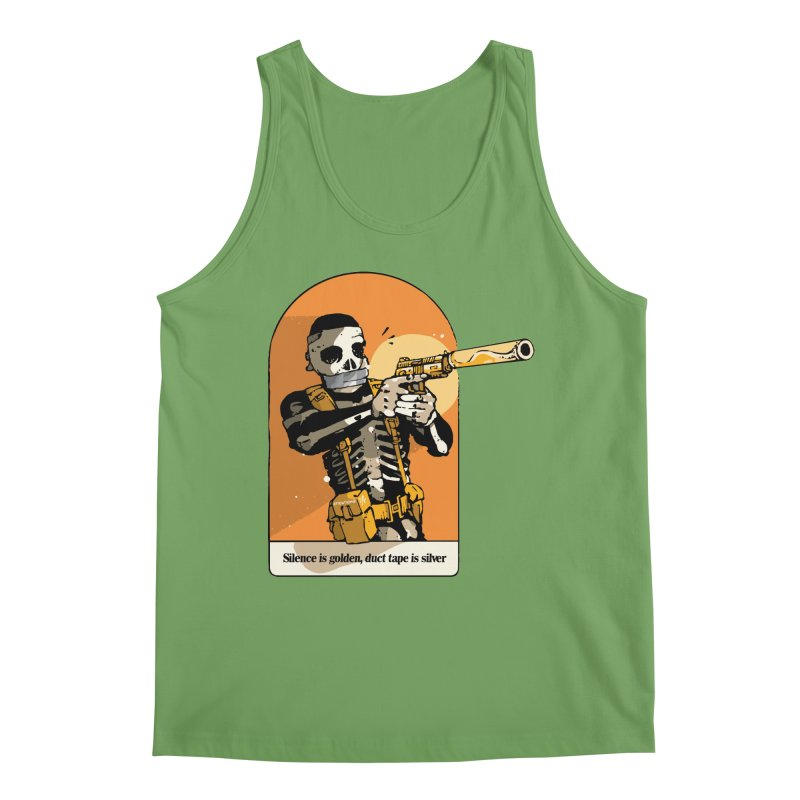 Silence is Golden 2 Men's Tank by Attention®