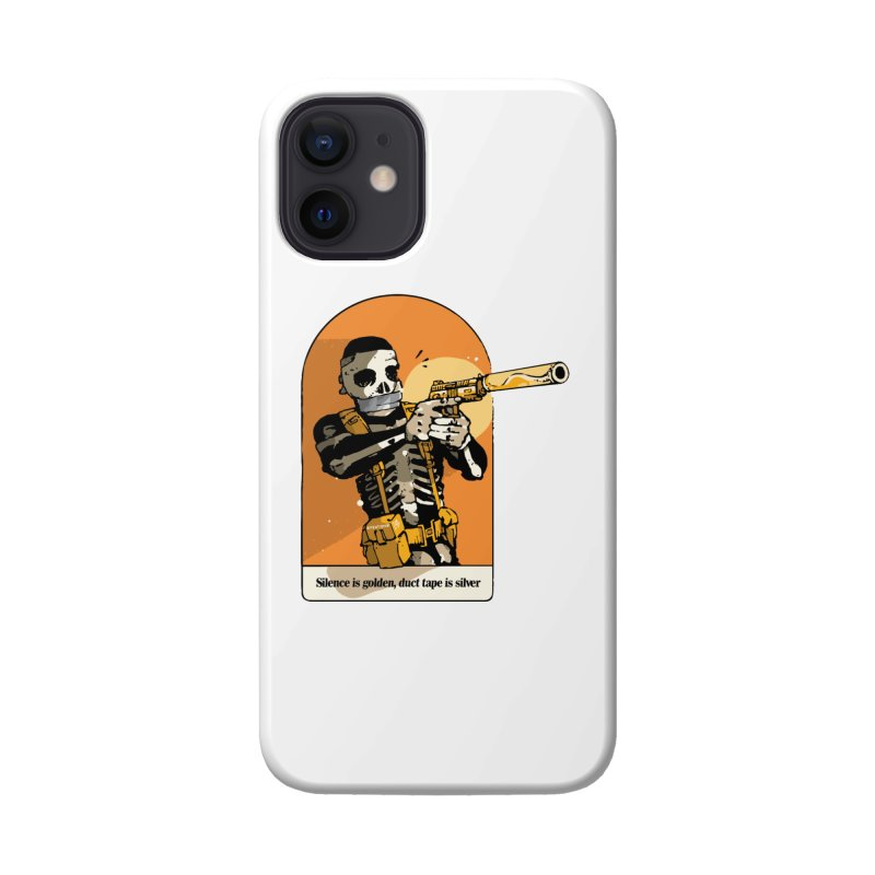 Silence is Golden 2 Accessories Phone Case by Attention®