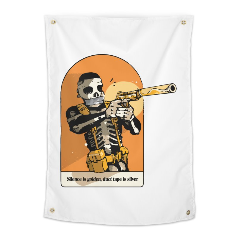Silence is Golden 2 Home Tapestry by Attention®