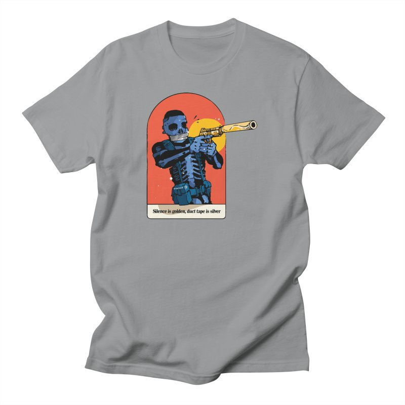 Silence is Golden 3 Men's T-Shirt by Attention®