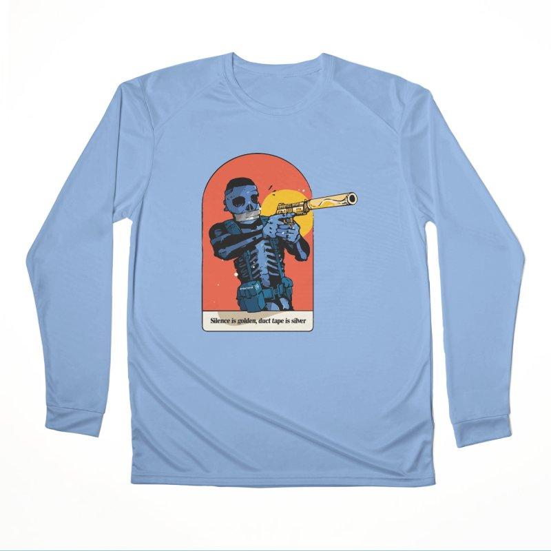 Silence is Golden 3 Men's Longsleeve T-Shirt by Attention®