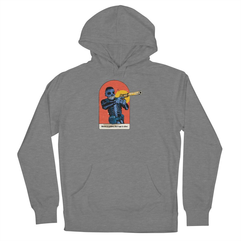 Silence is Golden 3 Women's Pullover Hoody by Attention®