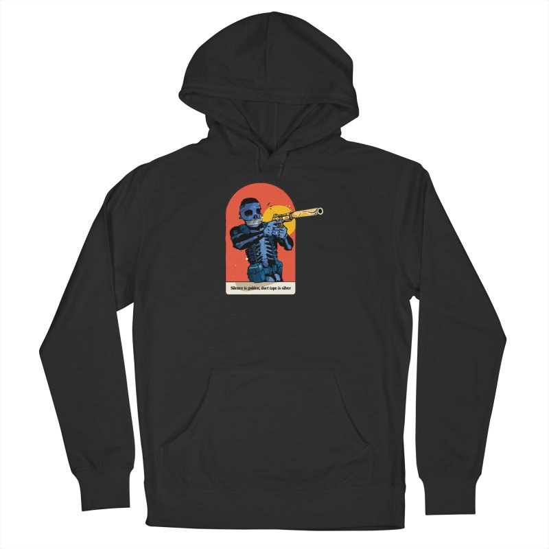 Silence is Golden 3 Men's Pullover Hoody by Attention®