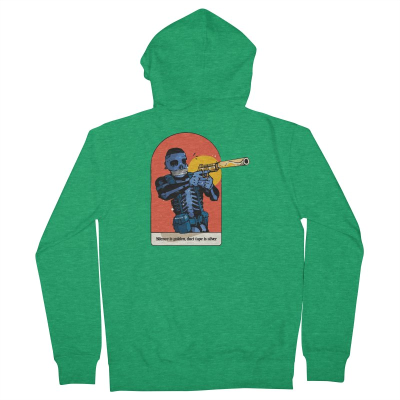 Silence is Golden 3 Men's Zip-Up Hoody by Attention®