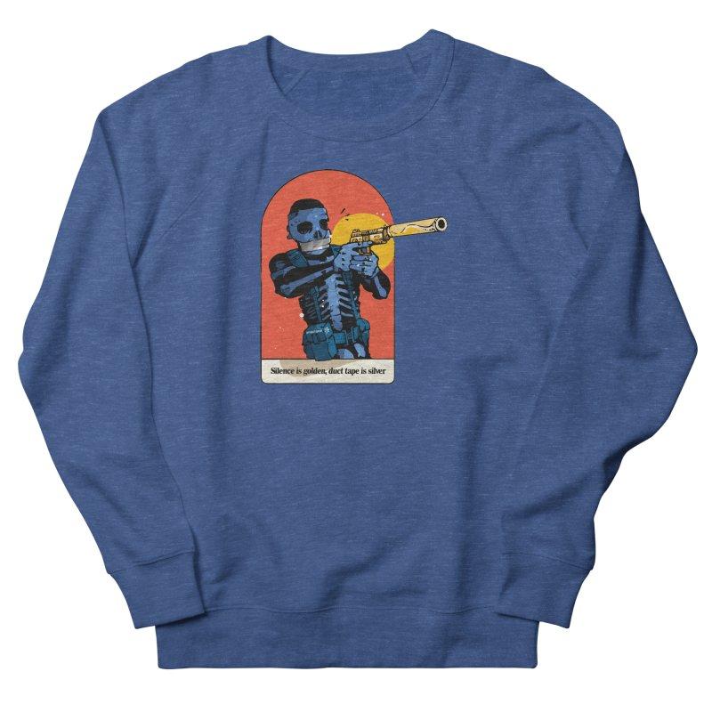 Silence is Golden 3 Men's Sweatshirt by Attention®