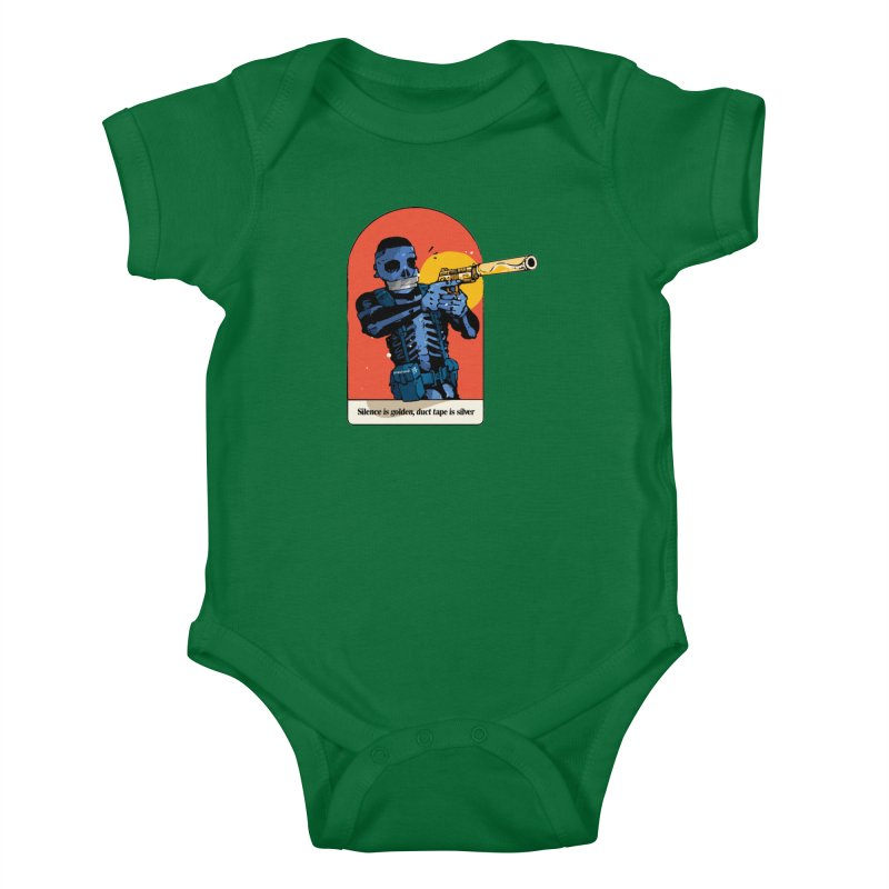 Silence is Golden 3 Kids Baby Bodysuit by Attention®
