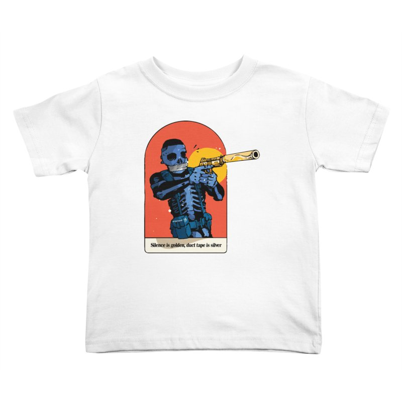 Silence is Golden 3 Kids Toddler T-Shirt by Attention®