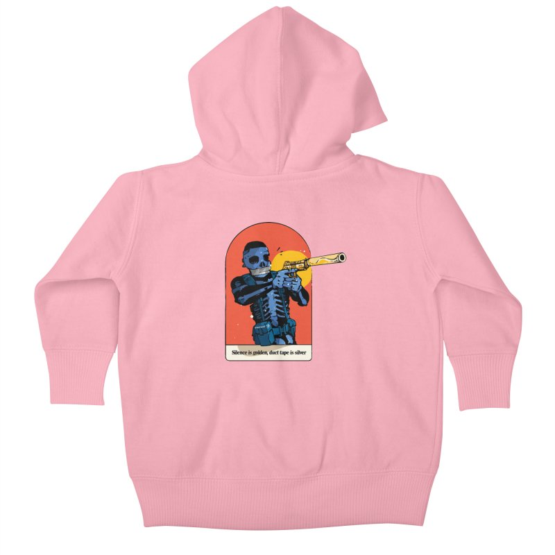 Silence is Golden 3 Kids Baby Zip-Up Hoody by Attention®