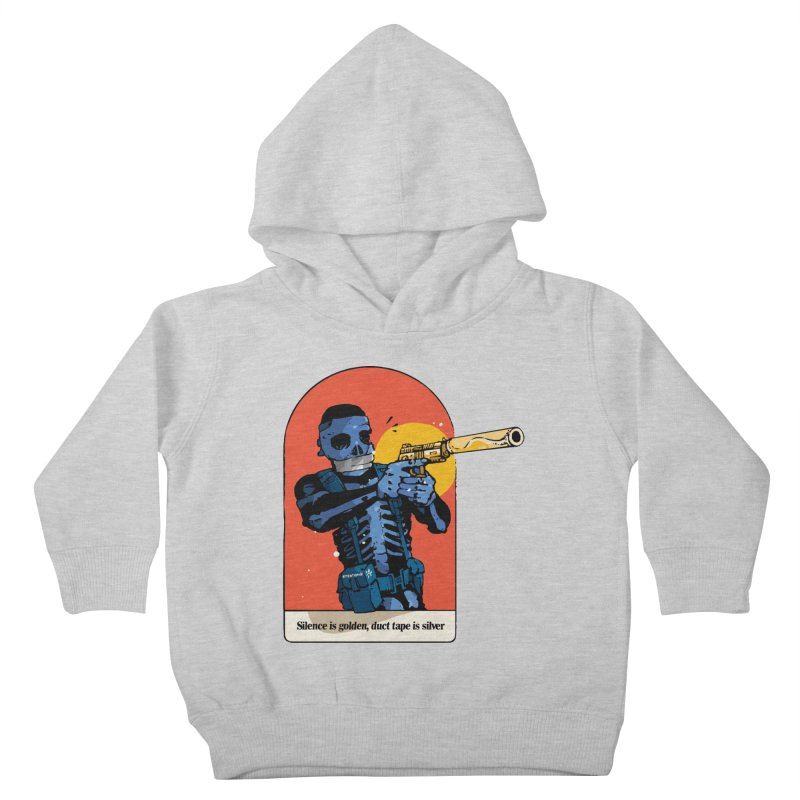 Silence is Golden 3 Kids Toddler Pullover Hoody by Attention®