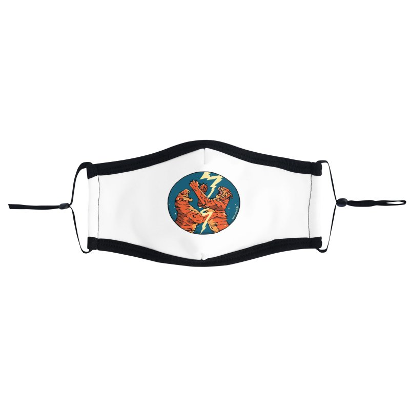 Tigers Fighting Accessories Face Mask by Attention®