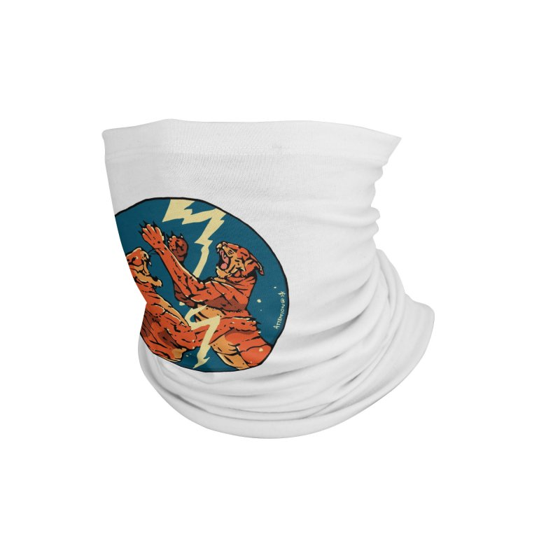Tigers Fighting Accessories Neck Gaiter by Attention®