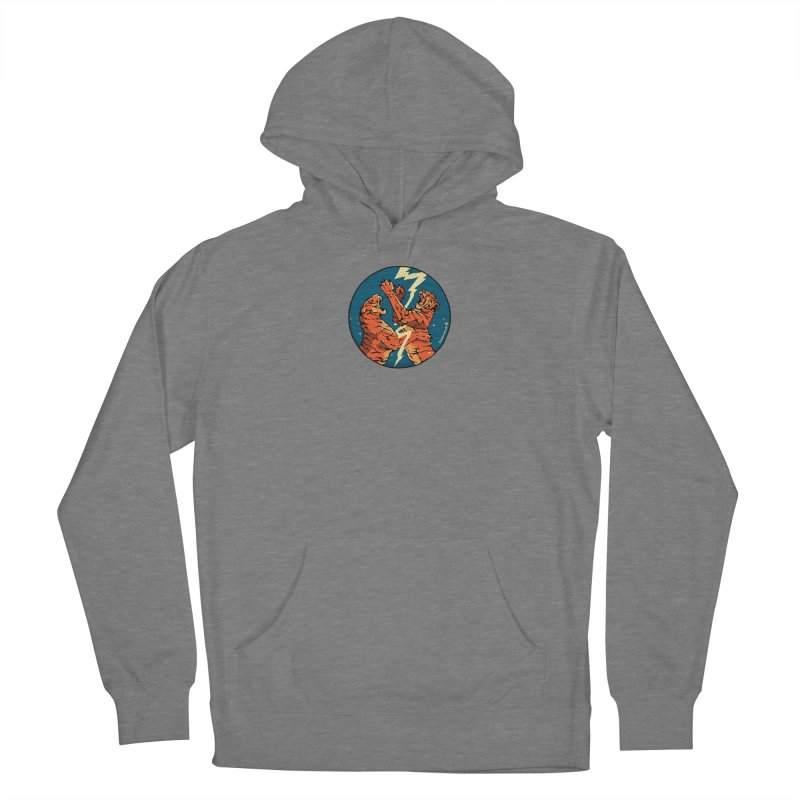 Tigers Fighting Women's Pullover Hoody by Attention®