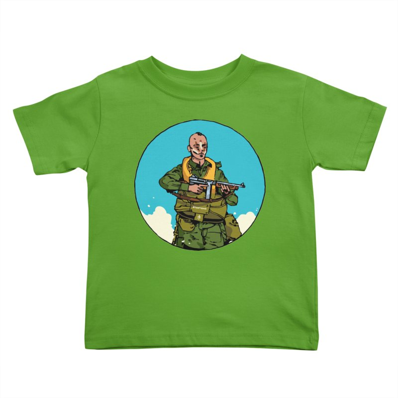 """""""McNasty"""" Kids Toddler T-Shirt by Attention®"""