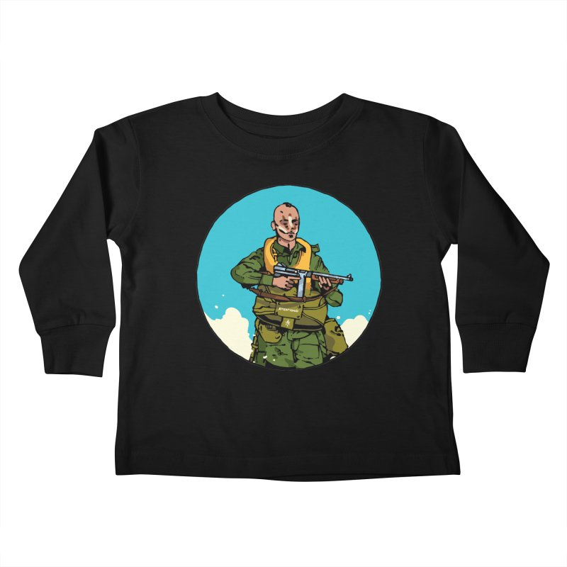 """""""McNasty"""" Kids Toddler Longsleeve T-Shirt by Attention®"""