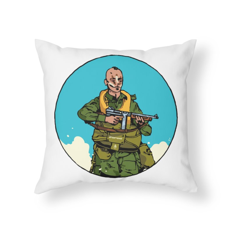 """""""McNasty"""" Home Throw Pillow by Attention®"""