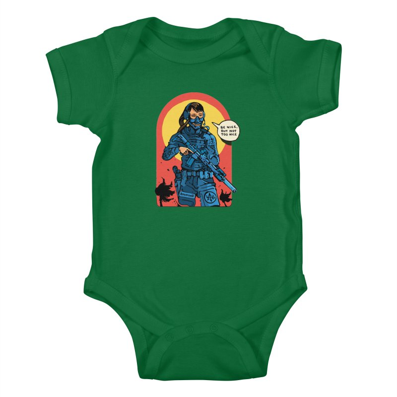 Be Nice (but not too nice) Kids Baby Bodysuit by Attention®