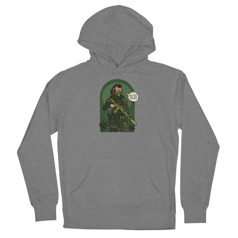 Be Nice (but not too nice) 2 Women's Pullover Hoody by Attention®