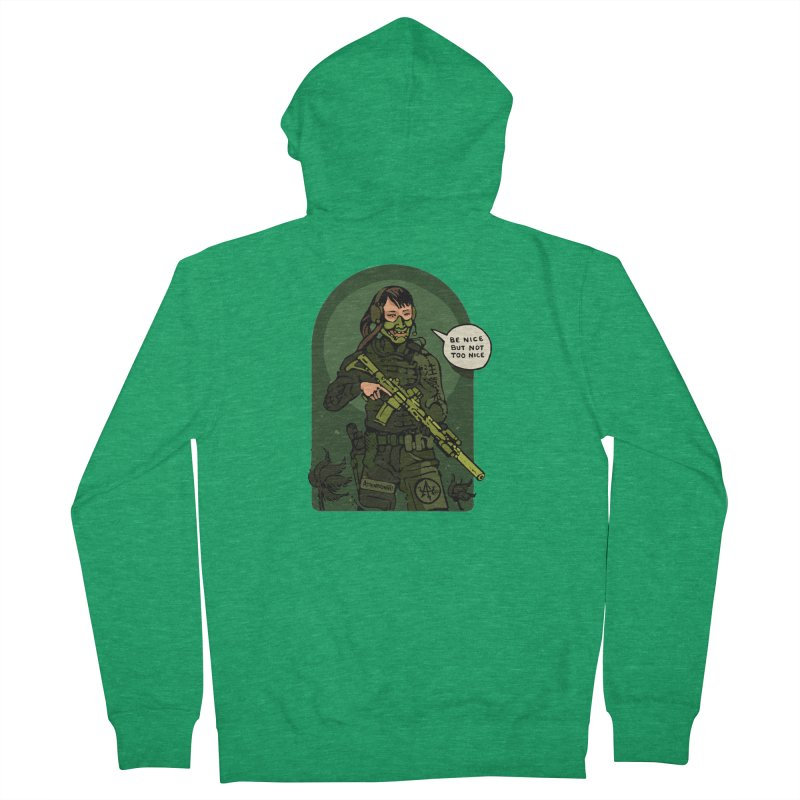 Be Nice (but not too nice) 2 Men's Zip-Up Hoody by Attention®