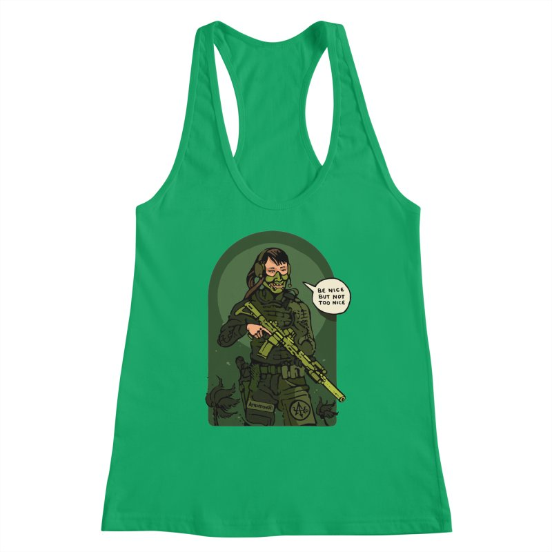 Be Nice (but not too nice) 2 Women's Tank by Attention®
