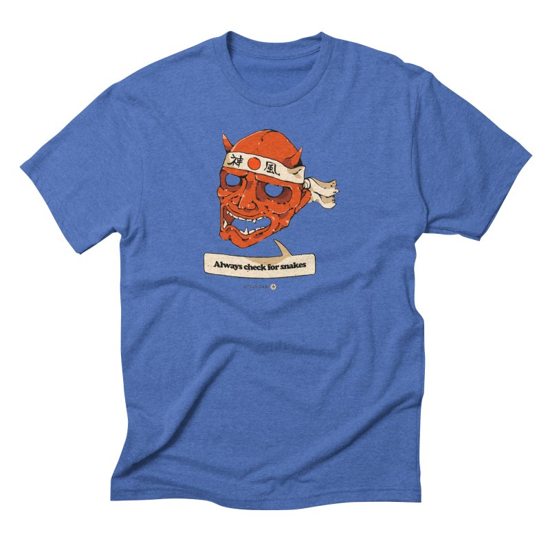 Kamikaze Hannya Men's T-Shirt by Attention®