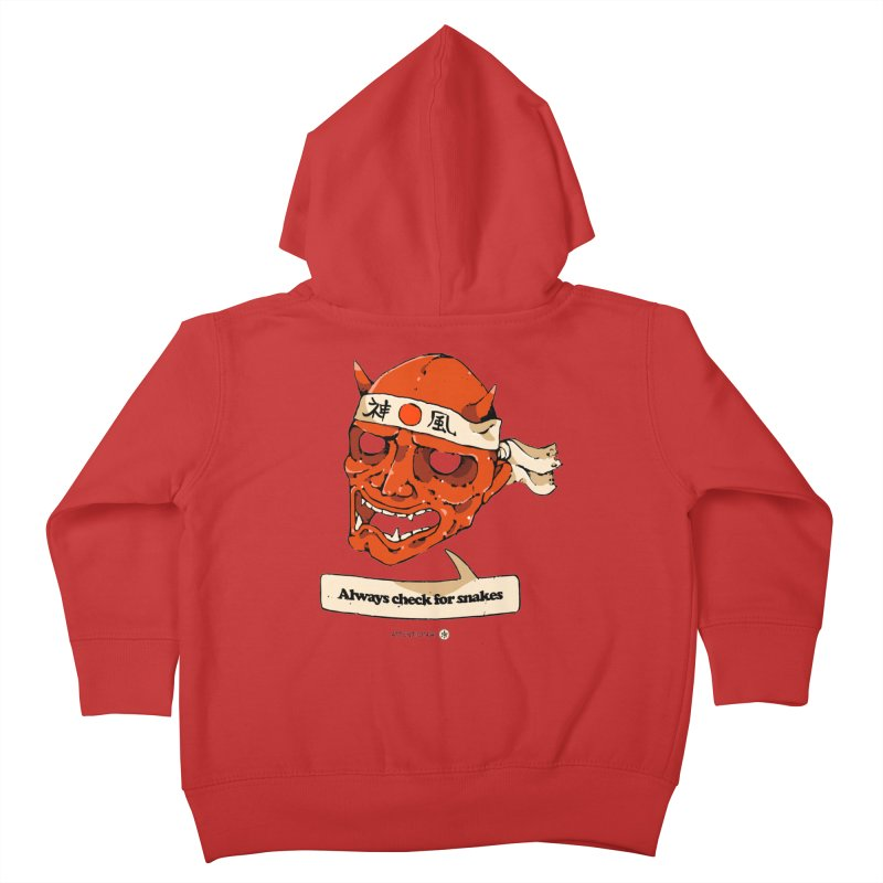 Kamikaze Hannya Kids Toddler Zip-Up Hoody by Attention®