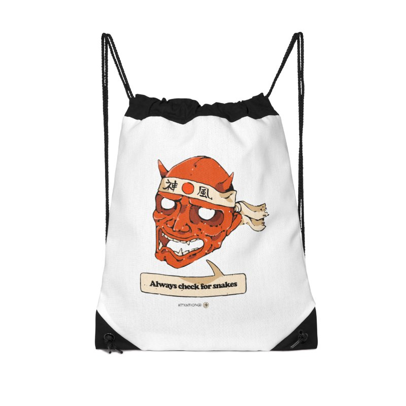 Kamikaze Hannya Accessories Bag by Attention®