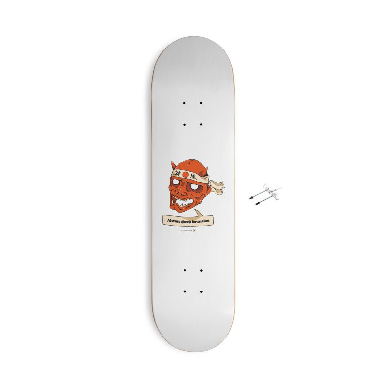 Kamikaze Hannya Accessories Skateboard by Attention®