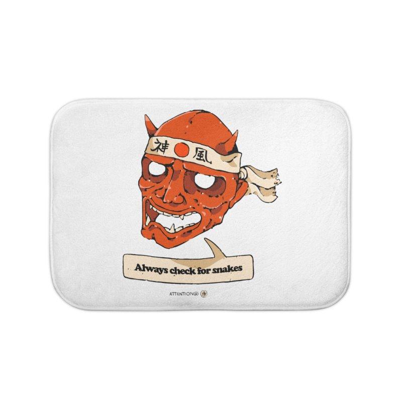 Kamikaze Hannya Home Bath Mat by Attention®