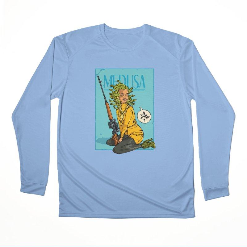 Medusa 2 Women's Longsleeve T-Shirt by Attention®
